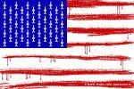 На американском жыдобанкирском флаге пятиконечные звёзды нарисованы из экономии или по ошибке.