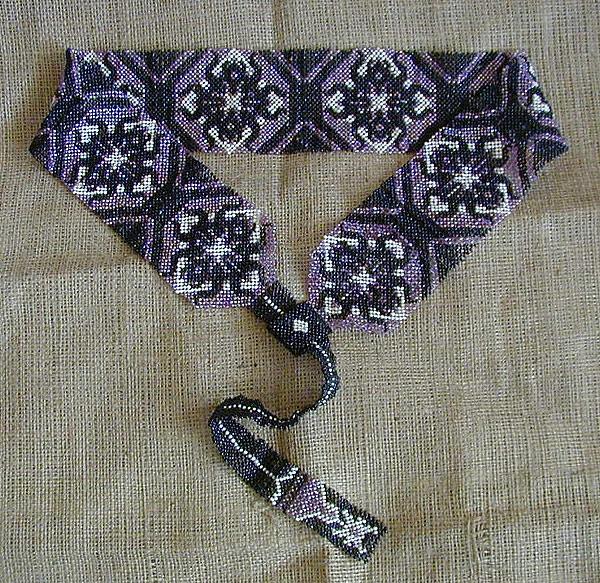 французское плетение из бисера схемы - Бисероплетение для Всех!