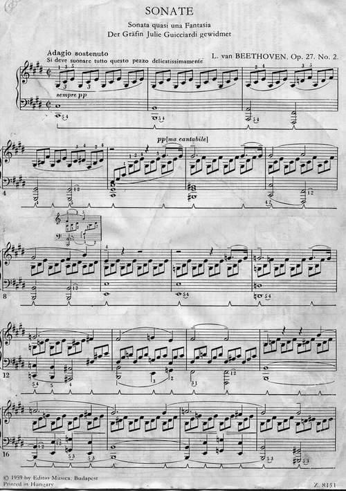 Чичков Ю Ноты К Сонате Для Фортепиано