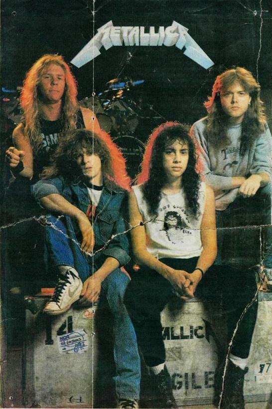 Metallica hard rock band